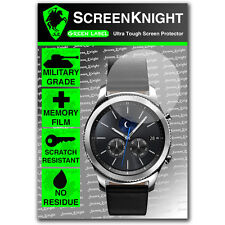 ScreenKnight Samsung Galaxy Gear S3 Classic SCREEN PROTECTOR - Military Shield