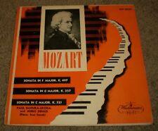Mozart Badura-Skoda Demus~3 Sonatas~RARE 1955 1st Press~NM Vinyl~FAST SHIPPING!