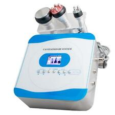 3 in1 Ultrasonic Cavitation Radio Frequency Fat Removal slimming lifting Machine