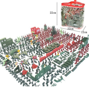 330pcs/Set Military Model Playset Toy 4cm Soldier Army Men Action Figures New