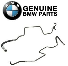 Genuine Pair Set of Inlet & Outlet Auto Trans Cooling Lines For BMW E46 3-Series
