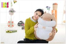 big plush brown hamster toy lovely new fat hamster doll gift toy about 55cm