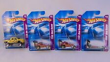 Lot of 5, Mattel Hot Wheels 1:64 scale TEAM: Hot Trucks & TEAM: Drag Racing MIB
