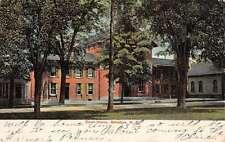 Belvidere New Jersey Court House Street View Antique Postcard K58976
