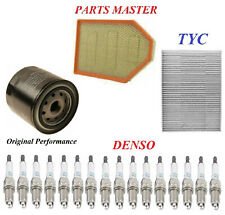 Tune Up Kit Filters Spark Plugs Fit DODGE CHARGER V8; 6.4L 2012-2014