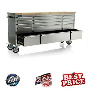 Tool Storage Chest Garage Drawer Work Bench Cabinet Organizer Rolling Heavy Duty
