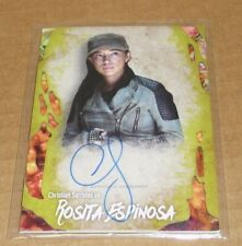 THE WALKING DEAD AUTOGRAPH REG MONROE #99