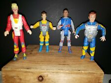 The Real Ghostbusters Peter Winston Ray Egon Action Figure Lot Screamin Heroes