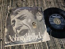 "JOHNNY HALLYDAY Diana/Maybellene 45 7"" 1962 SPAIN ESPAGNE PS **RARE**"