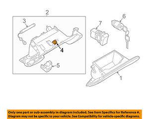 NISSAN OEM Glove Compartment Box-Bulb & Socket 248602J001