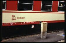 35mm slide+© ÖBB Österreichische Bundesbahnen 50 81 20-75 158-3ViennaAustria82or