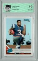 Damien Harris 2019 Donruss Football #309 Gem Mint Rookie Card PGI 10