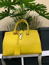 Yves SAINT LAURENT Handbag - Yellow Full Leather
