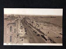 Vintage Real Photo Postcard: #TP1970: Marine Parade Worthing