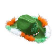 Cappelli e copricapi verde in feltro per carnevale e teatro, in Irlanda