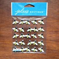 Bee Stickers Scrapbook Embellishments Rhinestone 3D Jolee's Boutique
