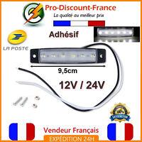 Lumière 12V 24V LED BLANC Poids Lourd Remorque Camion Camping Car Gabarit