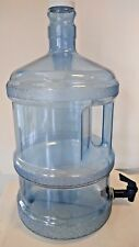 3 Gallon Polycarbonate Reusable Water Bottle with Faucet (Made in USA)