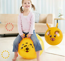 Inflatable Bouncing Ball Sport Cartoon Animal Educational Toy Ball for Baby QW