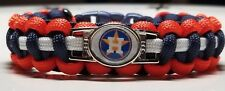 Houston Astros 2017 World Series Champions Custom Sized Paracord Bracelet See Ad