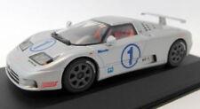 Véhicules miniatures gris pour Bugatti 1:43