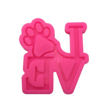 Dog Love Silicone Mold for Epoxy Resin Crafts