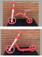 Yvolution Velo Loopa 2 in 1 Balance Bike and Scooter - Red
