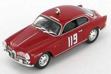 Alfa Romeo Giulietta Sprint Borgerhoff - Mulder Rally Monte Carlo 1962 1:43