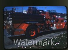 1959 Kodachrome Photo slide Fire Engine Truck #1 California
