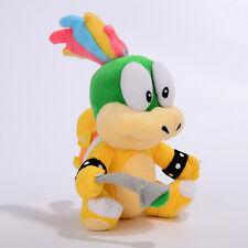Super Mario Bros Bowser Son Koopalings Lemmy Koopa 7in Plush Toy Xmas Doll