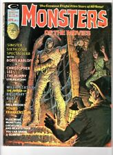 WoW! Monsters Of The Movies #6 The Mummy! Young Frankenstein! Willis O'Brian!