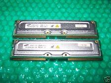 512MB SAMSUNG PC800-45  RIMM RAMBUS RDRAM ECC, TESTED