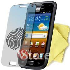 2 Pellicola Opaca Per Samsung Galaxy W i8150 Antiriflesso Antimpronta Pellicole