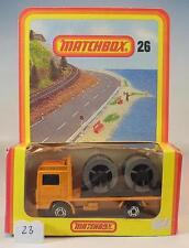 MATCHBOX SUPERFAST Nº 26 VOLVO Cable Camion allemand Hösbach neuf dans sa boîte #023