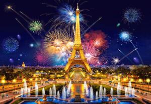 PUZZLE TORRE EIFFEL 1000 PIEZAS CASTORLAND 103997 EL GLAMOUR DE LA NOCHE , PARIS