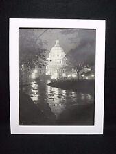 """1920-'50 RARE ORIGINAL 11"""" x 14"""" U S CAPITAL PHOTO / THEO HORYDCZAK (1890-1971)"""
