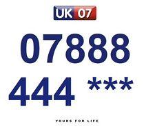 07888 444 *** - Gold Easy Memorable Business Platinum VIP UK Mobile Numbers