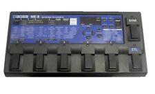 Boss ME-8 Guitar Multi Effects pédale Processeur & Alimentation 25 50 70 80