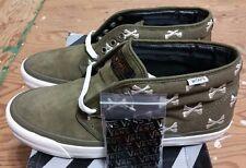 Vans x Wtaps OG Chukka Boot LX  Olive Bones Crossbones Size 11.5 kanye supreme