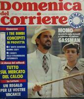 DOMENICA DEL CORRIERE N.30 1974 GASMANN PROFUMO DI DONNA
