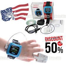 US Wrist Pulse Oximeter, Spo2 Monitor Daily And Overnight Sleep, CE FDA,CMS50F