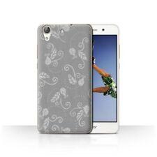 Étuis, housses et coques gris pour téléphone mobile et assistant personnel (PDA) Huawei à motifs