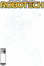 Robotech #1 Cover F Blueline sketch cover variant Titan