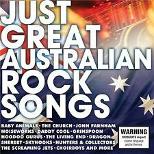 Just Great Australian Rock Songs by Various Artists (CD, Jun-2017, 2 Discs, Sony Music)