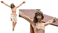 "Jesus Christ Statue Resin Crucifix 27,5""  cm.70 Cross not included"