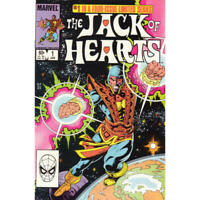 Jack of Hearts #1 in Very Fine condition. Marvel comics [*vt]