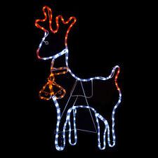 reindeer indooroutdoor christmas lights