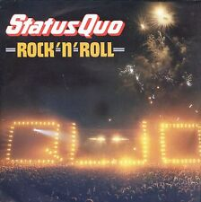 7inch STATUS QUO rock n roll HOLLAND 1983 EX +PS