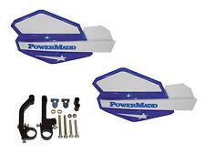 Powermadd Star Series Handguards Guards Blue / White Snowmobile Ski Doo Summit