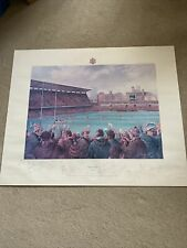 More details for alan fearnley signed print / wales v england / cardiff arms park 1981